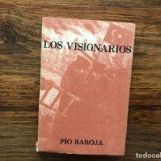 Libros de segunda mano: LOS VISIONARIOS. PIO BAROJA. EDITORIAL CARO RAGGIO. CUBIERTA DE RICARDO BAROJA. MADRID 1974. Lote 176171178