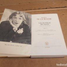 Libros de segunda mano: LAS NOVELAS DE JALNA POR MAZO DE LA ROCHE. TOMO III. AGUILAR. 1º EDICION. 1963.. Lote 176284059