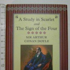 Libros de segunda mano: A STUDY IN SCARLET AND THE SIGN OF THE FOUR. SIR ARTHUR CONAN DOYLE. COLLECTOR'S LIBRARY. DEBIBL. Lote 176354838