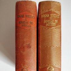 Libros de segunda mano: NOVELAS DE INTRIGA - NOVELAS DE MISTERIO. EDGAR WALLACE. AGUILAR-JOYA. 1946. PRIMERA EDICIÓN. Lote 176500029
