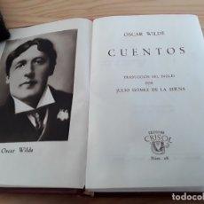 Libros de segunda mano: CRISOL, OSCAR WILDE. Lote 176521520