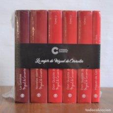 Libros de segunda mano: LO MEJOR DE MIGUEL DE CERVANTES 6 TOMOS * PACK PRECINTADO. Lote 176623084