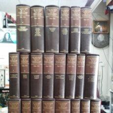 Libros de segunda mano: LAS MEJORES NOVELAS DE LA LITERATURA UNIVERSAL SIGLO XIX - COLECCIÓN COMPLETA 22 TOMOS - ED. CUPSA . Lote 176636240