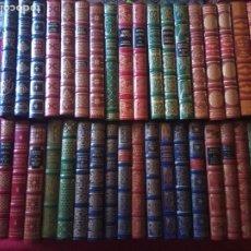 Libros de segunda mano: LOTE DE 42 LIBROS. GRANDES GENIOS DE LA LITERATURA UNIVERSAL .CLUB INTERNACIONAL DEL LIBRO.. Lote 176834995