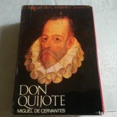 Libros de segunda mano: DON QUIJOTE. ILUSTRADO POR RAMON CALSINA.EDICIONES NAUTA 1970. Lote 176883299