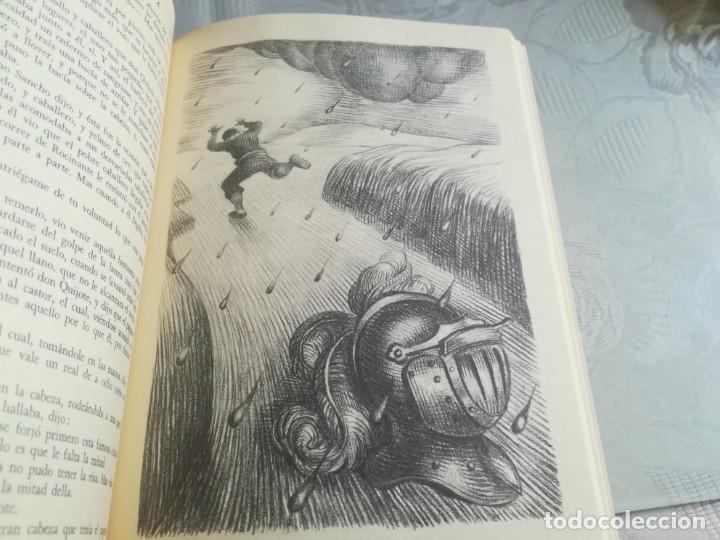 Libros de segunda mano: DON QUIJOTE. Ilustrado por Ramon Calsina.ediciones nauta 1970 - Foto 2 - 176883299
