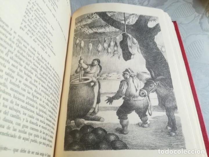 Libros de segunda mano: DON QUIJOTE. Ilustrado por Ramon Calsina.ediciones nauta 1970 - Foto 8 - 176883299