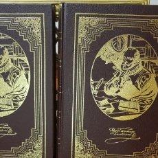 Libros de segunda mano: DON QUIJOTE DE LA MANCHA.DOS TOMOS. Lote 177071839