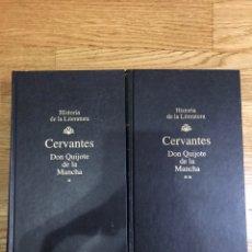 Libros de segunda mano: CERVANTES DON QUIJOTE DE LA MANCHA 2 TOMOS. Lote 177322408
