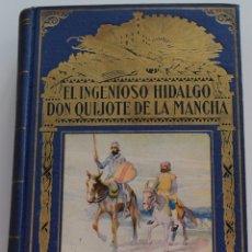 Libros de segunda mano: EL INGENIOSO HIDALGO DON QUIJOTE DE LA MANCHA - CERVANTES - EDITORIAL RAMÓN SOPENA AÑO 1954. Lote 177508649