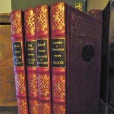 Libros de segunda mano: LOTE 4 LIBROS- JOYAS DE LA LITERATURA ROMÁNTICA. Lote 177516788