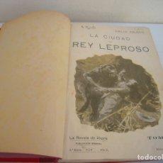 Libros de segunda mano: TOMO LA NOVELA DE AHORA VARIOS TITULOS CALLEJA. Lote 177596878