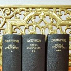 Libros de segunda mano: DOSTOYEVSKI,OBRAS COMPLETAS. AGUILAR.. Lote 177615298