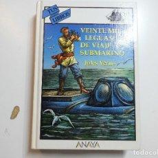 Libros de segunda mano: TUS LIBROS Nº 137 VEINTE MIL LEGUAS DE VIAJE SUBMARINO ANAYA 3ª EDICION. Lote 177841570