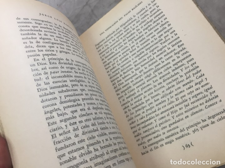 Libros de segunda mano: Jorge Luis Borges. Discusión. (Col. Obras Completas). Buenos Aires, 1957 - Foto 5 - 178005855