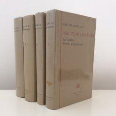 Livros em segunda mão: OBRAS COMPLETAS. 4 TOMOS. MIGUEL DE CERVANTES. BIBLIOTECA CASTRO TURNER. PRECINTADOS. 1993. QUIJOTE.. Lote 178042877