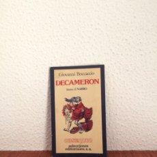 Libros de segunda mano: DECAMERÓN (SELECCIÓN) - GIOVANNI BOCCACCIO - ILUSTRA J. NARRO - EDICIONES NAUTA. Lote 178124469