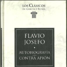 Livres d'occasion: LIBRO. PLANETA DEAGOSTINI. LOS CLÁSICOS DE GRECIA Y ROMA. Nº 71. FLAVIO JOSEFO. Lote 178137318