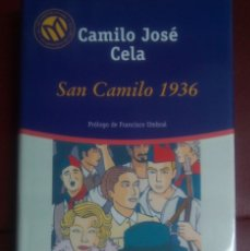 Libros de segunda mano: SAN CAMILO 1936. CAMILO JOSÉ CELA. Lote 178172966