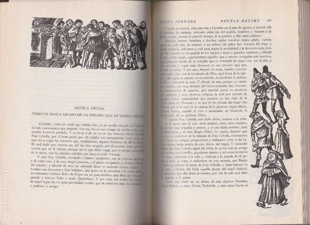 Libros de segunda mano: DECAMERON. BOCCACCIO - Foto 2 - 178369700