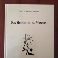 Libros de segunda mano: DON QUIJOTE DE LA MANCHA MIGUEL DE CERVANTES SEMURET TAPA DURA EDICIÓN DE LEANDRO RODRÍGUEZ . Lote 178440821