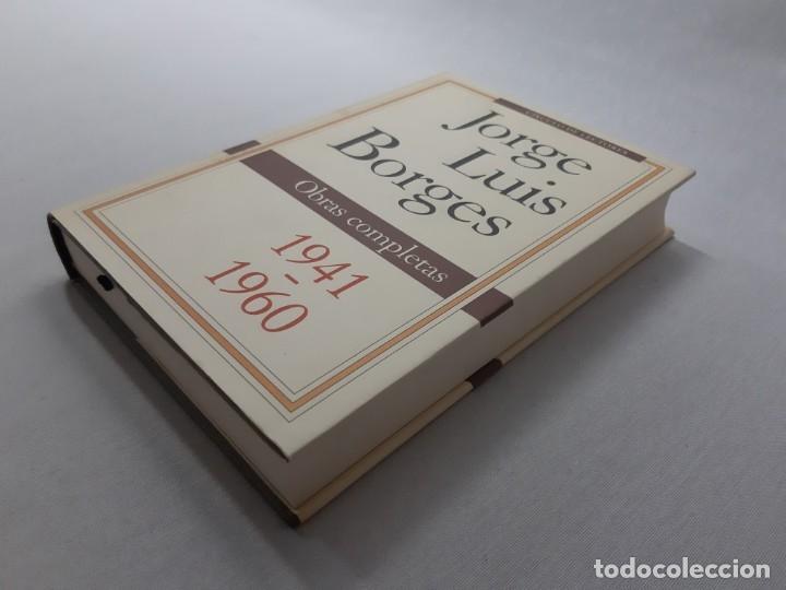 Libros de segunda mano: Obras completas Obras completas 1941-1960 por Jorge Luis Borges (1992) - Borges, Jorge Luis - Foto 3 - 178711220