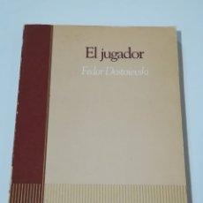 Libros de segunda mano: EL JUGADOR DE FEDOR DOSTOIEVSKI - SALVAT EDITORES EDICIÓN DE 1985. Lote 178851391