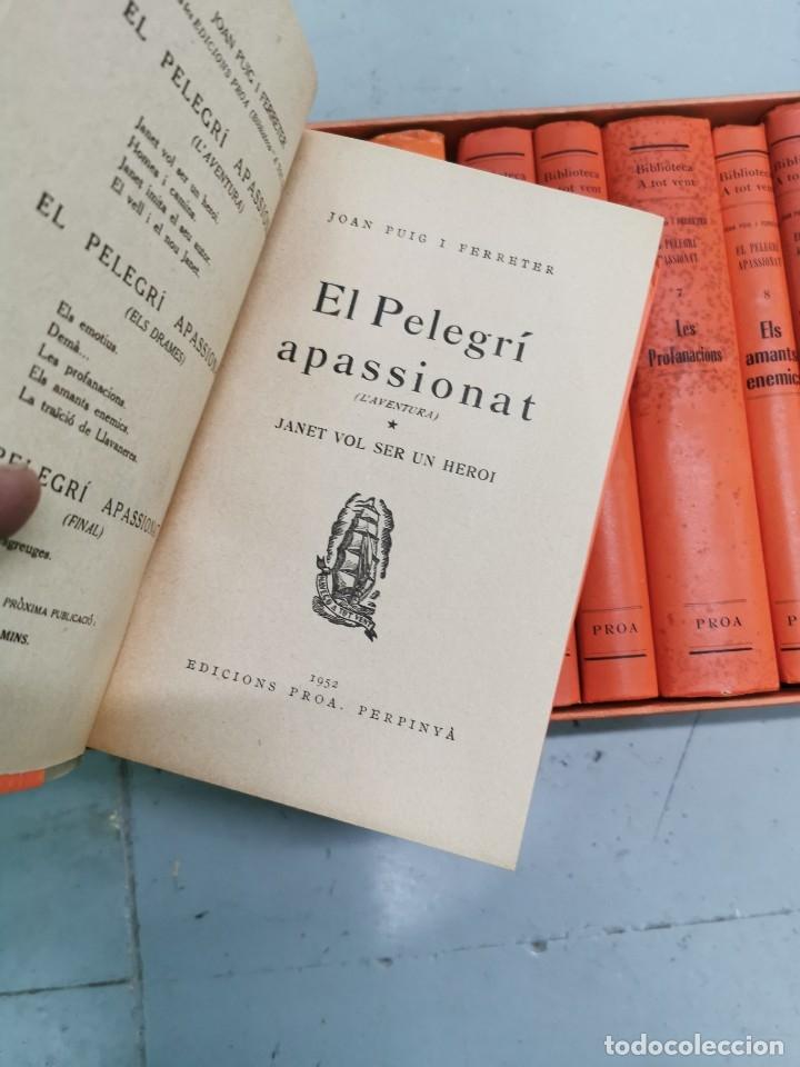Libros de segunda mano: EL PELEGRÍ APASSIONAT 12 VOLS. - EDICION ESPECIAL CENTENARIO DE JOAN PUIG I FERRETER 1882-1982 - Foto 3 - 178883933