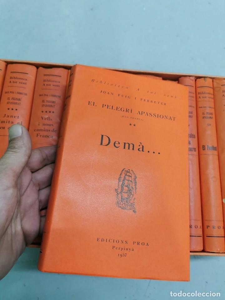 Libros de segunda mano: EL PELEGRÍ APASSIONAT 12 VOLS. - EDICION ESPECIAL CENTENARIO DE JOAN PUIG I FERRETER 1882-1982 - Foto 4 - 178883933
