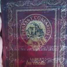 Libros de segunda mano: PIRATAS Y CORSARIOS ROBERT LUIS STEVENSON LA ISLA DEL TESORO. Lote 179023803