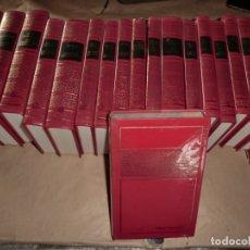 Libros de segunda mano: LOTAZO DE TOMOS BRUGUERA DE OBRAS INMORTALES,( 20 TOMOS DE 1 EDICION),1974. Lote 179028041