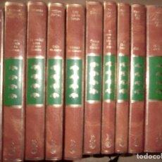 Libros de segunda mano: LOTE DE TOMOS DE ANTOLOGIA LITERARIA,1 EDICION 1985,( SON 21 TOMOS). Lote 179028290