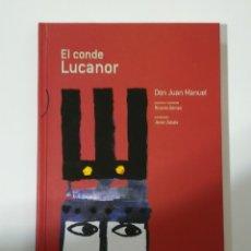 Libros de segunda mano: EL CONDE LUCANOR DE DON JUAN MANUEL. EDELVIVES. EDICIÓN DE 2016. Lote 179039937