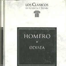 Livres d'occasion: LIBRO. PLANETA DEAGOSTINI. LOS CLÁSICOS DE GRECIA Y ROMA. Nº 1. HOMERO. ODISEA. Lote 179062733