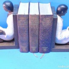 Libros de segunda mano: LIBRO DE LAS MIL Y UNA NOCHES (3 TOMOS OBRA COMPLETA).- ANÓNIMO.. Lote 179068841