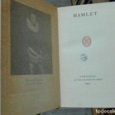 Libros de segunda mano: SHAKESPEARE. HAMLET. 1941. Lote 179071733