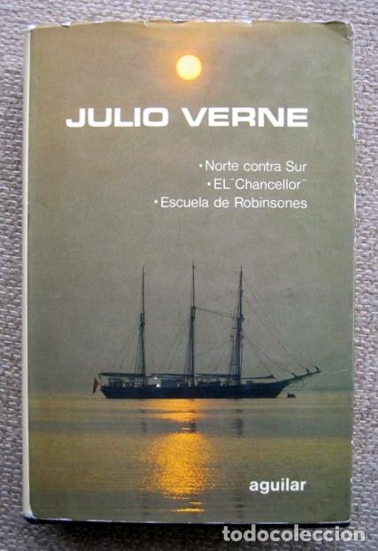 NOVELAS ESCOGIDAS DE JULIO VERNE. TOMO 8 VIII. AGUILAR (Libros de Segunda Mano (posteriores a 1936) - Literatura - Narrativa - Clásicos)
