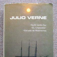 Libros de segunda mano: NOVELAS ESCOGIDAS DE JULIO VERNE. TOMO 8 VIII. AGUILAR. Lote 179103343