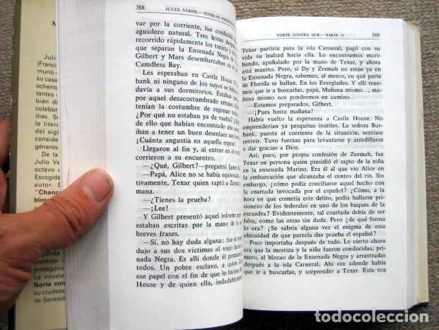 Libros de segunda mano: Novelas escogidas de Julio Verne. Tomo 8 VIII. Aguilar - Foto 3 - 179103343