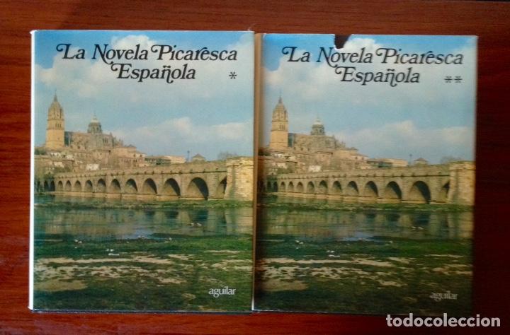 Libros de segunda mano: La novela picaresca española Colección Obras eternas Editorial Aguilar - Foto 2 - 179118240
