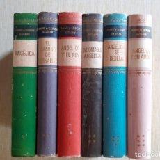 Livres d'occasion: LOTE 6 TOMOS DE ANGELICA - ANNE GOLON. Lote 179140056