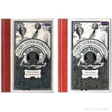 Libros de segunda mano: VEINTE MIL LEGUAS DE VIAJE SUBMARINO I Y II (2 TOMOS) - JULIO VERNE. CLUB INTERNAC DEL LIBRO. USADO. Lote 179180628