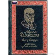 Libros de segunda mano: AMOR Y PEDADOGIA - NADA MENOS QUE TODO UN HOMBRE - MIGUEL DE UNAMUNO. CLUB INTERNAC DEL LIBRO. USADO. Lote 179190697