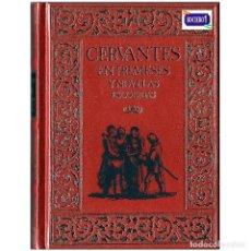 Libros de segunda mano: ENTREMESES Y NOVELAS ESCOCIDAS - CERVANTES. CLUB INTERNACIONAL DEL LIBRO. USADO. Lote 179202256