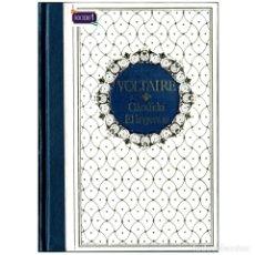 Libros de segunda mano: CÁNDIDO Y EL INGENUO - VOLTAIRE. CLUB INTERNACIONAL DEL LIBRO. USADO. Lote 179324513