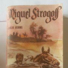 Libros de segunda mano: MIGUEL STROGOFF, JULIO VERNE 1º PARTE. ENCICLOPEDIA PULGA. Lote 179377252