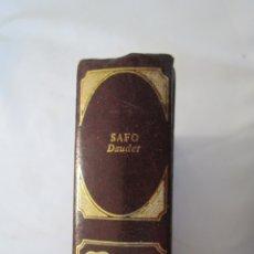 Libros de segunda mano: CLÁSICOS UNIVERSALES DE LA LITERATURA ERÓTICA - SAFO - 1978 . Lote 179548872