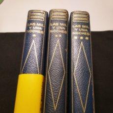 Libros de segunda mano: LAS MIL Y UNA NOCHES. TRES TOMOS COMPLETA. PLANETA. Lote 179944031