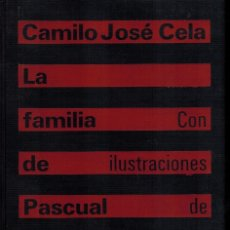 Libros de segunda mano: LA FAMILIA DE PASCUAL DUARTE. Lote 180091256