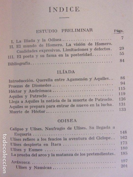 Libros de segunda mano: HOMERO / J.M. PABÓN / 1947. LABOR - Foto 2 - 180127416